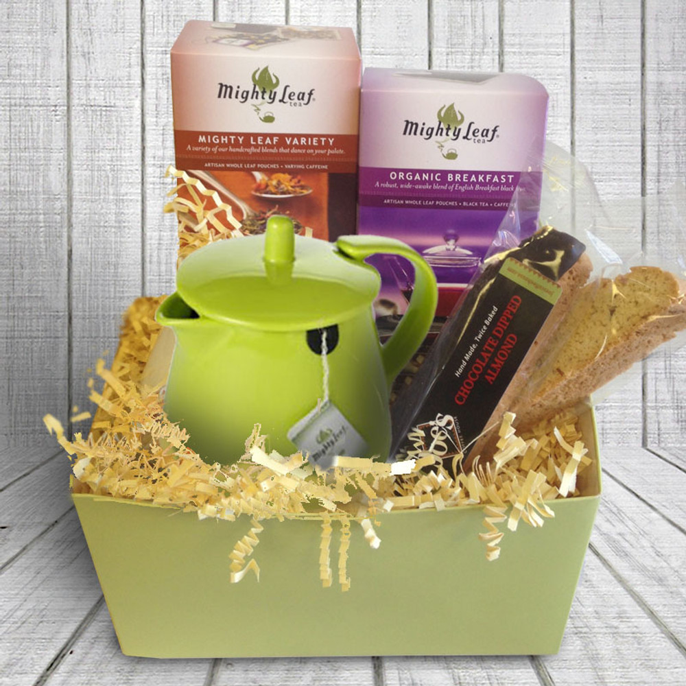 Tea Lovers Gift Box - Green