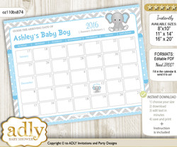 Baby Due Date Calendar, guess baby arrival date game