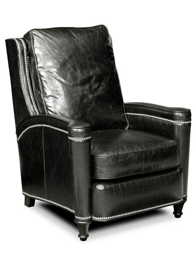 Bradington Young Leather Mayes Recliner Chair Model 3216