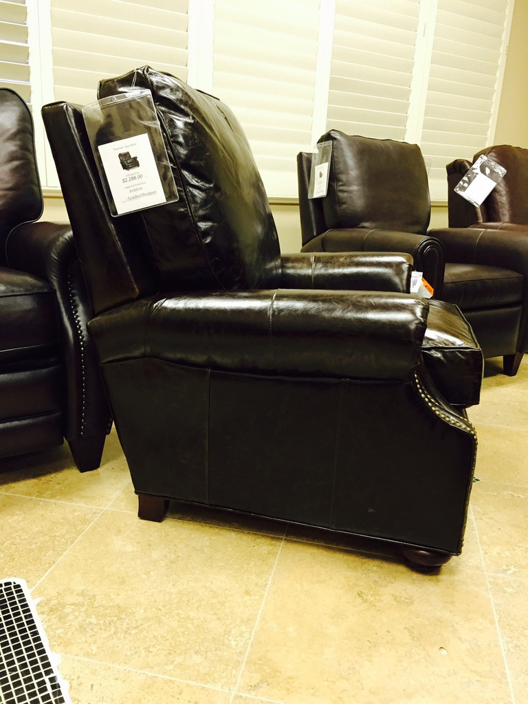 Bradington Young Leather Warner Recliner 3220