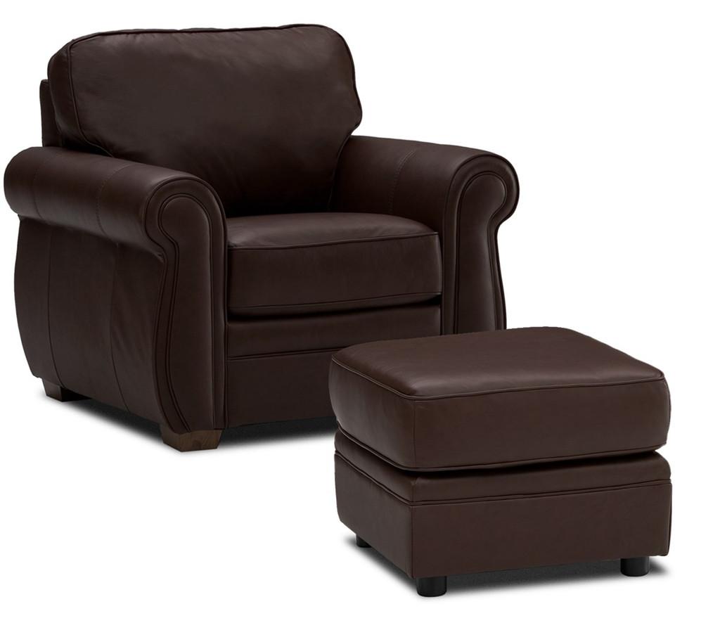 Palliser Leather Sofas: Palliser Leather Sofa-Sectional-Model:77492 Viceroy