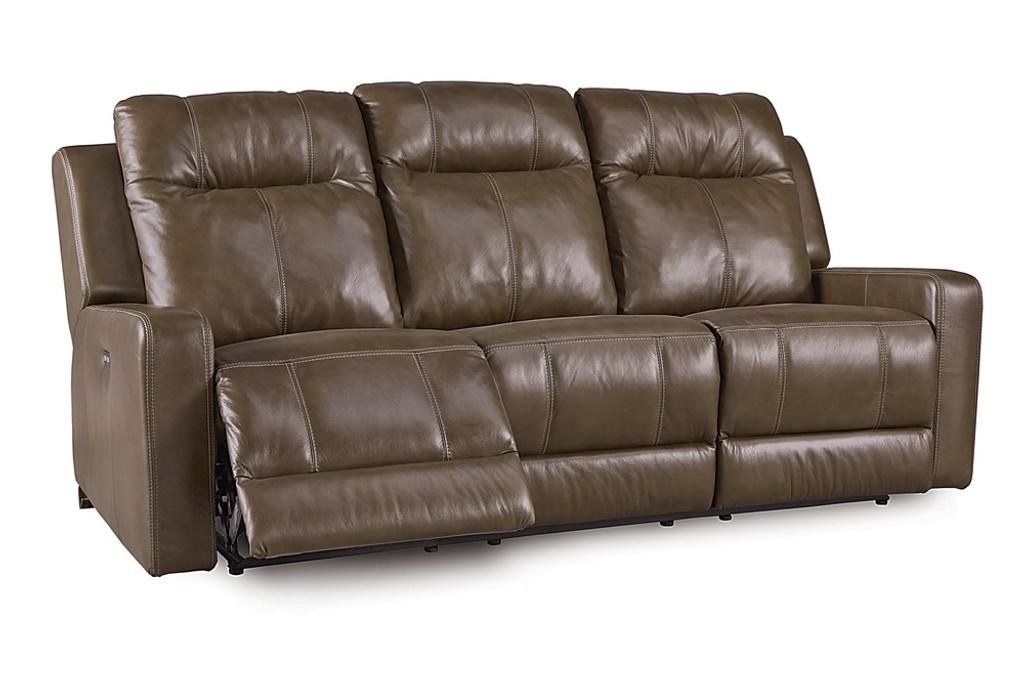Bon Palliser 41057 Redwood Pwer Head/Seat Recliner Sofa ...