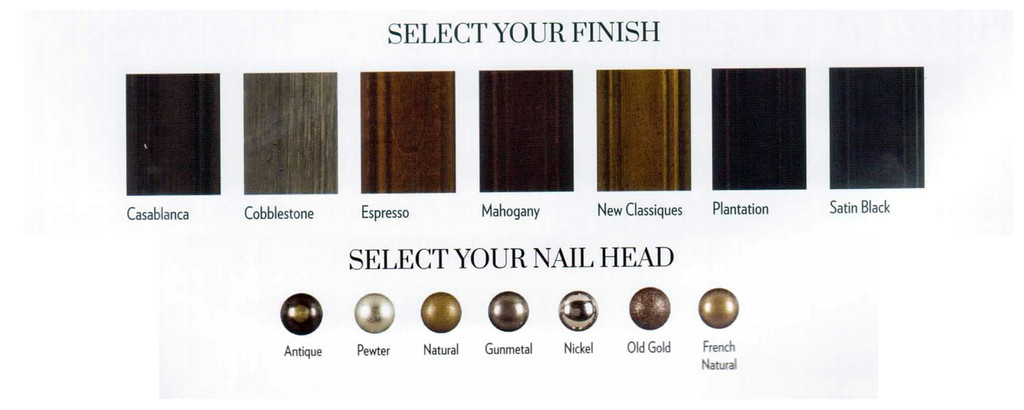 Wood and nail choices