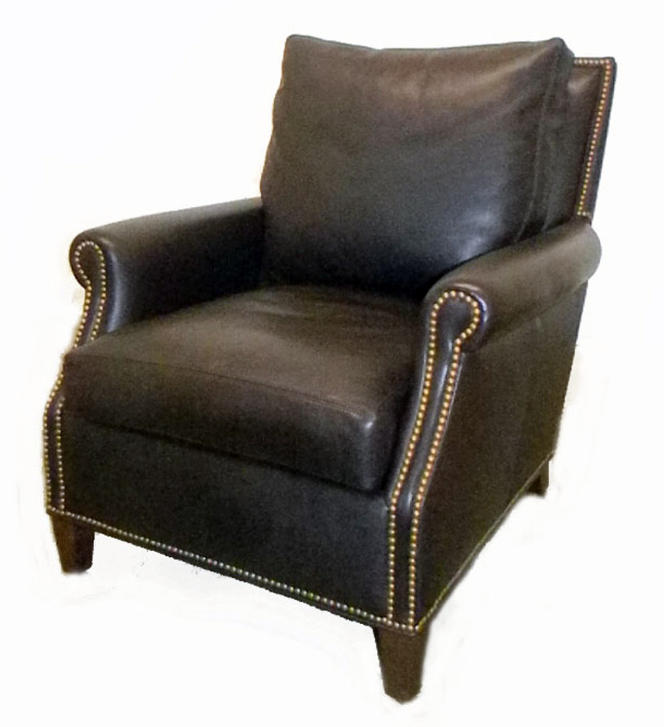 American Heritage Leather Furniture: Noland Leather Sofa ,American Heritage Custom Leather-Made