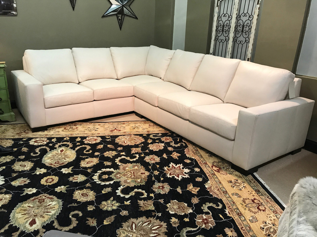 American Heritage Designer Choice Sectional 25% any leather