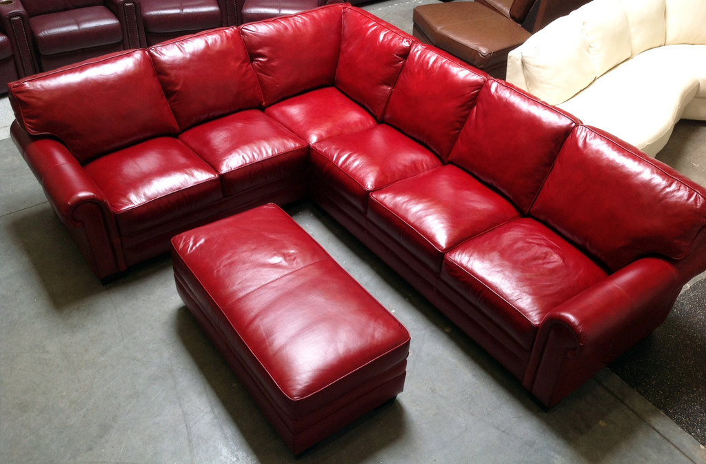 2pc Sectional Config #5-  (Ottoman extra charge)