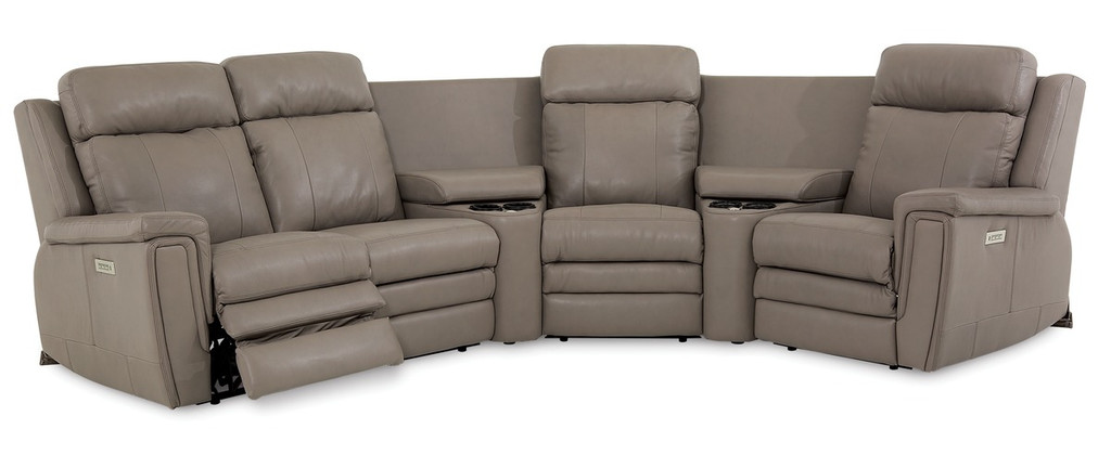 Palliser 41065  Asher Pwer Head/Seat/Lumbar Recliner Sectional
