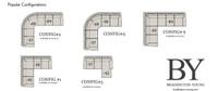 Bradington-Young 221 Sterling  Arm Sectional Custom