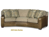 223 Hanley Custom Arm Series Model -99 Conversation Sofa