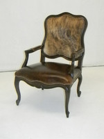 American Heritage Carved Accent  Chair