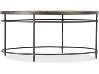 Hooker Furniture Living Room St Armand Round Cocktail Table