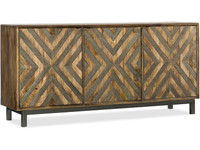 Hooker Furniture Home Entertainment 69 in Accent Console