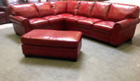 A.H. Lassiter (Lancaster) Sectional- 25% off any leather