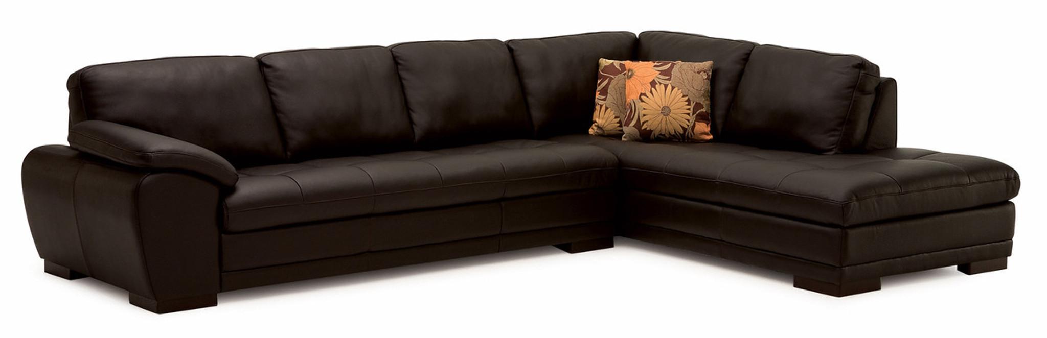 Palliser Leather Sofa Sectional Model 77319 Miami Leather