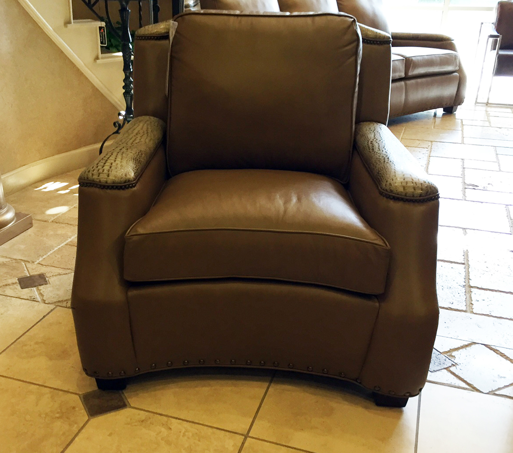 Harrington Leather Sofa American Heritage Custom Leather