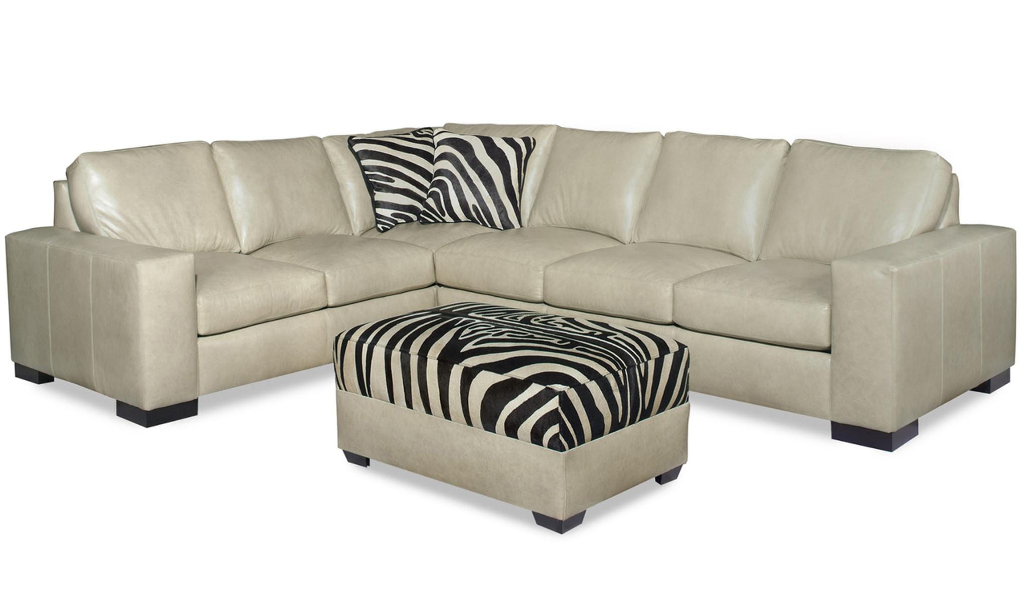 Designer Choice Program Leather Sofa American Heritage