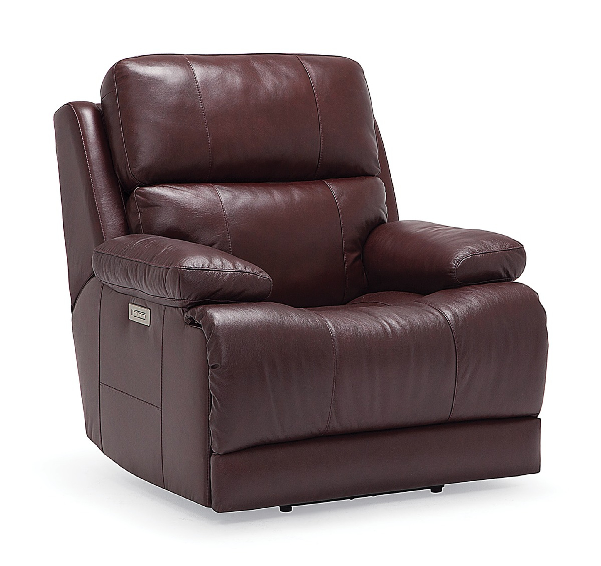 Palliser Leather Power Head Rest Recliner Sofa Model