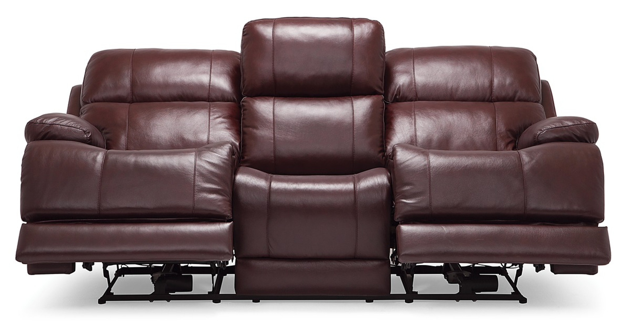 Palliser Leather Power Head Rest Recliner Sofa Model Kenaston 41064