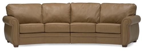 Palliser Miami Sectional From 1 968 00 By Palliser: Palliser Leather Sofa-Sectional-Model:77558 Barrett