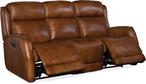 Hooker-SS426-P3-085 Emerson Power Head/Seat Recliner Sofa