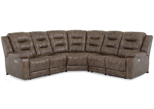 Palliser 41063  Leighton Pwer Head/Seat/Lumbar Recliner Sectional