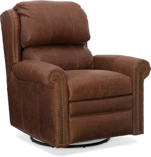 Swivel glider option- No wood finish on this option