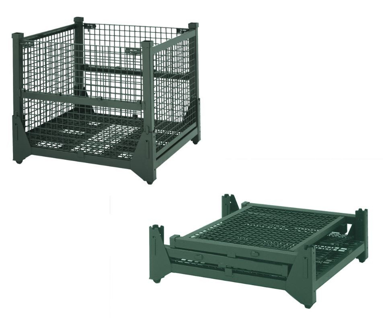 HF4WM454842VG Hold N Fold Wire Mesh Container 45\