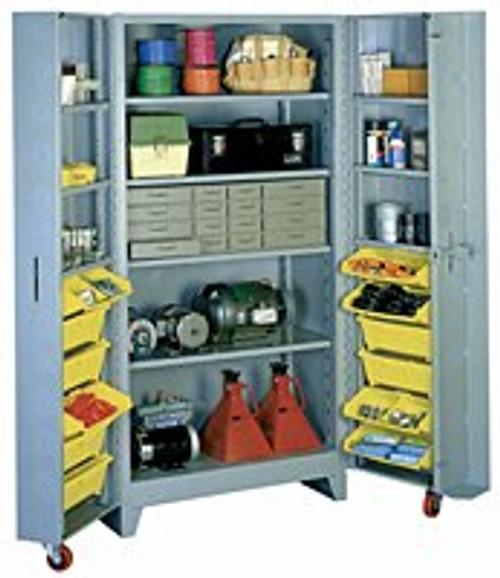 1127 Lyon Deep Door Cabinet With Tilt Bins