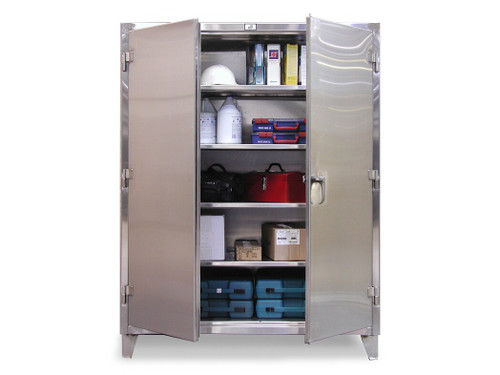 35-243SS Stainless Steel Cabinet 36  x 24  ...  sc 1 st  Industrial Shelving Systems & Products - Heavy Duty Storage Cabinets - Stainless Steel Storage ...