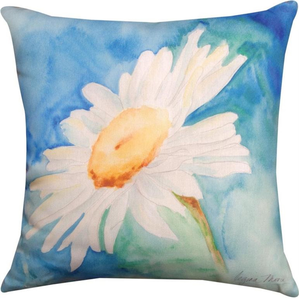 Daisy Pillow | Indoor Outdoor | Climaweave | Manual Woodworkers