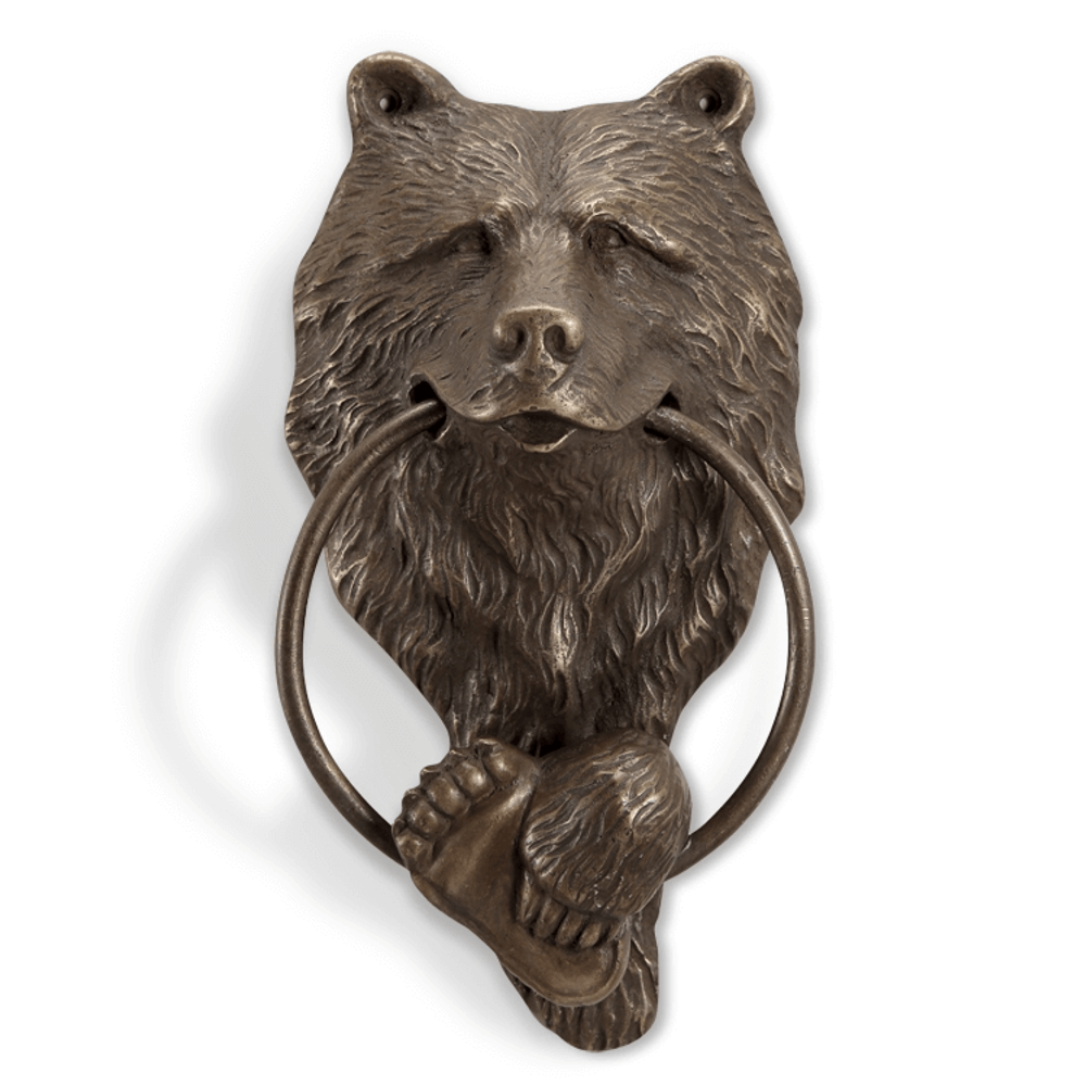Bear Head Door Knocker | SPI Home | 34756 ...