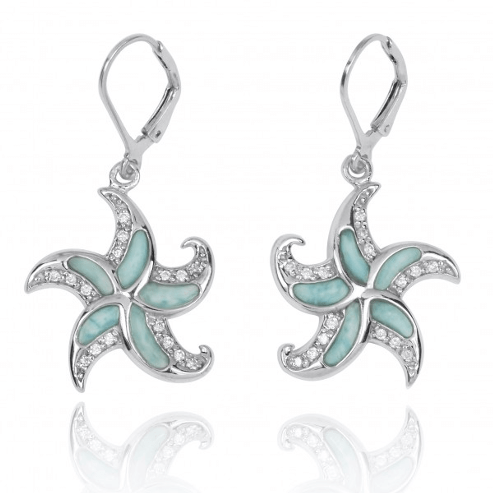 marahlago larimarket zuma larimar collection earrings