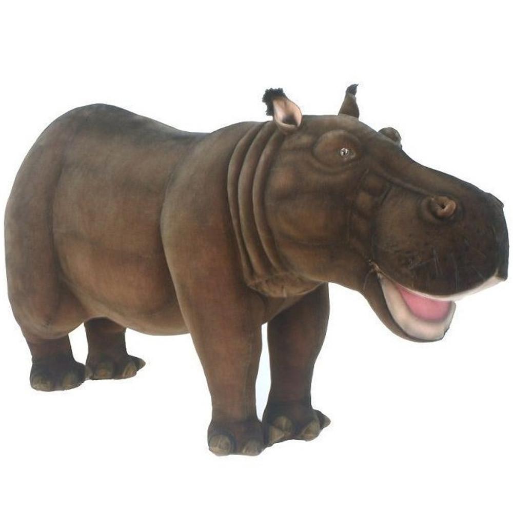 Hippo Ride-On | Hippopotamus Stuffed Animal | Hansa Toys