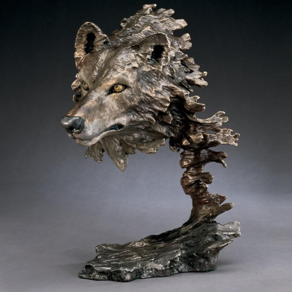 Wolf Sculpture | Wild Wind | Bronze | Statue