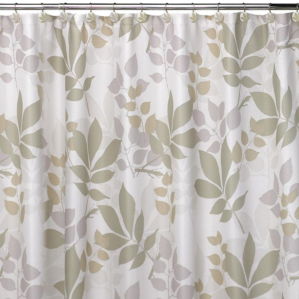 Shadow Leaves Shower Curtain | Bed Bath | Decor