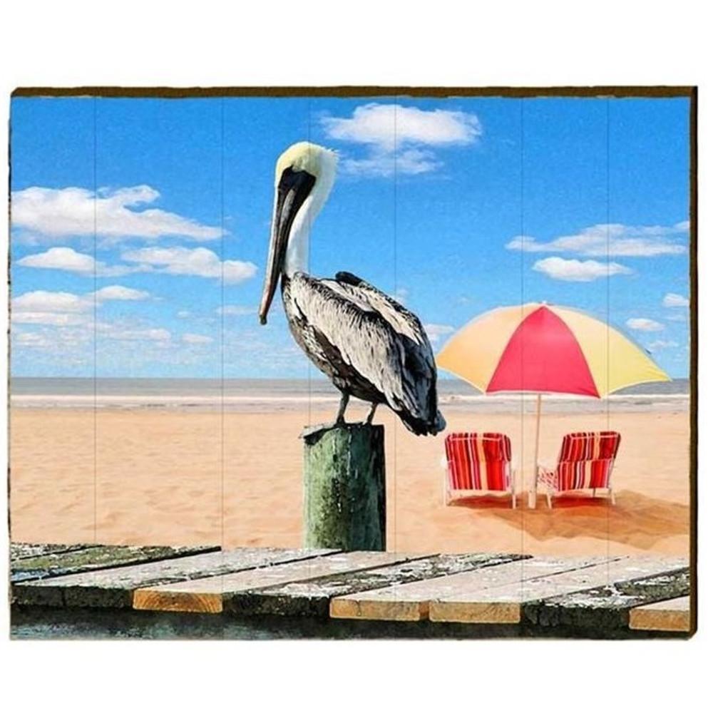 Pelican Wood Art | Wall | Wood