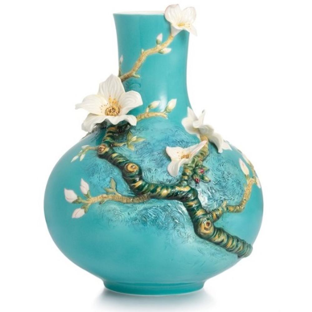 Almond Flower Vase Van Gogh Porcelain Franz Collection
