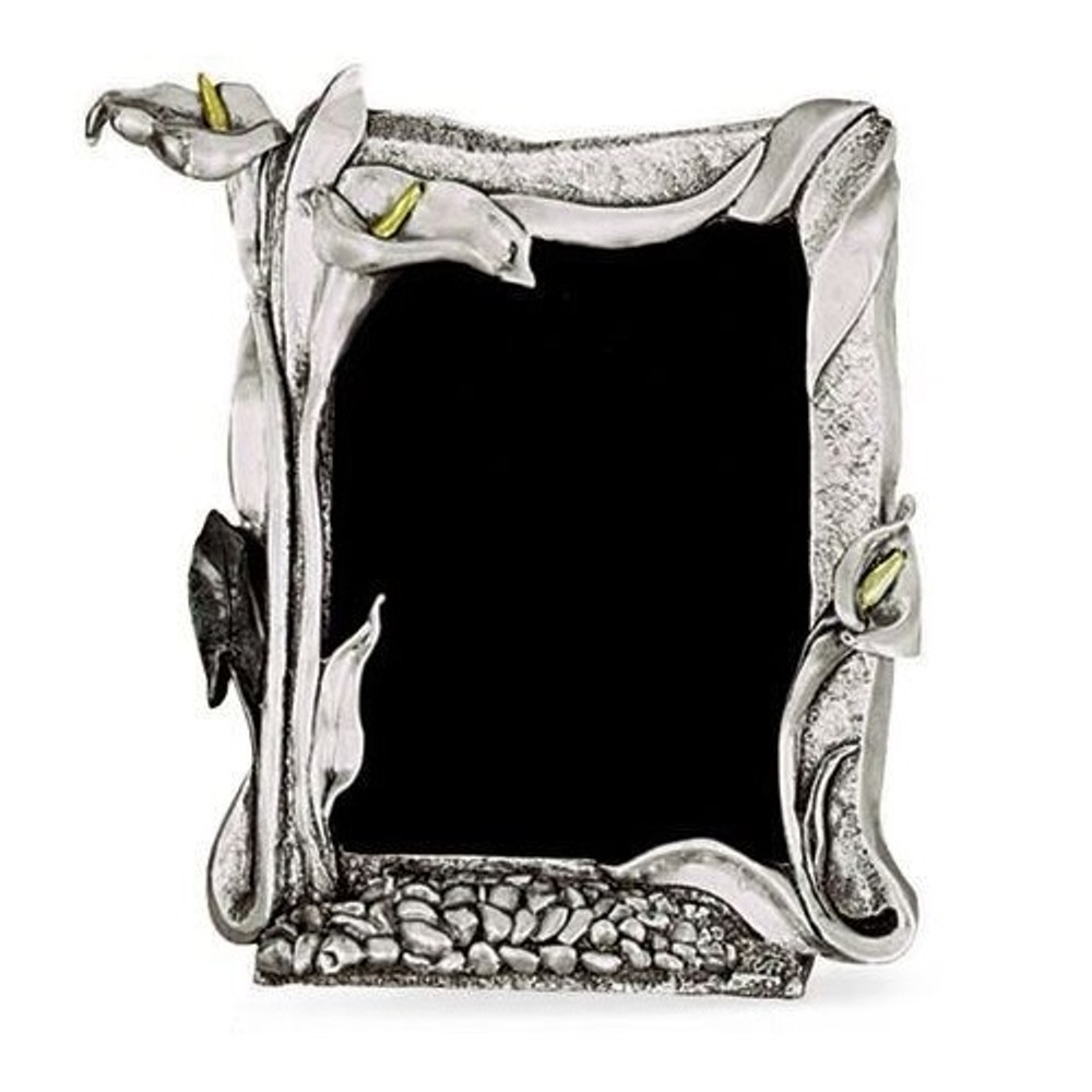 Calla Lily Photo Frame   U203   Silver Plated   D\'Argenta