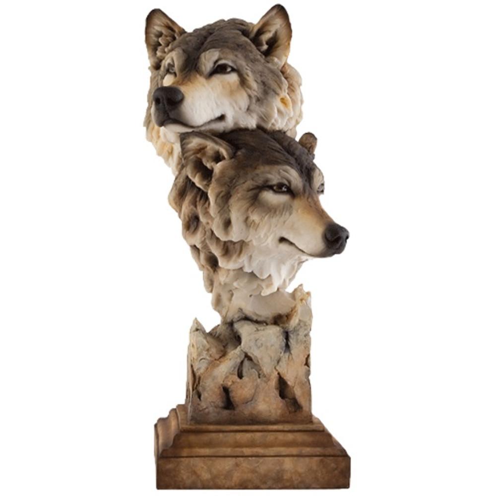Wolf Kindred Sculpture Stephen Herrero