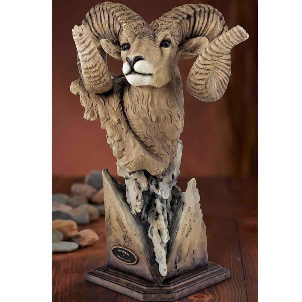 Bighorn Sculpture Fortitude Stephen Herrero