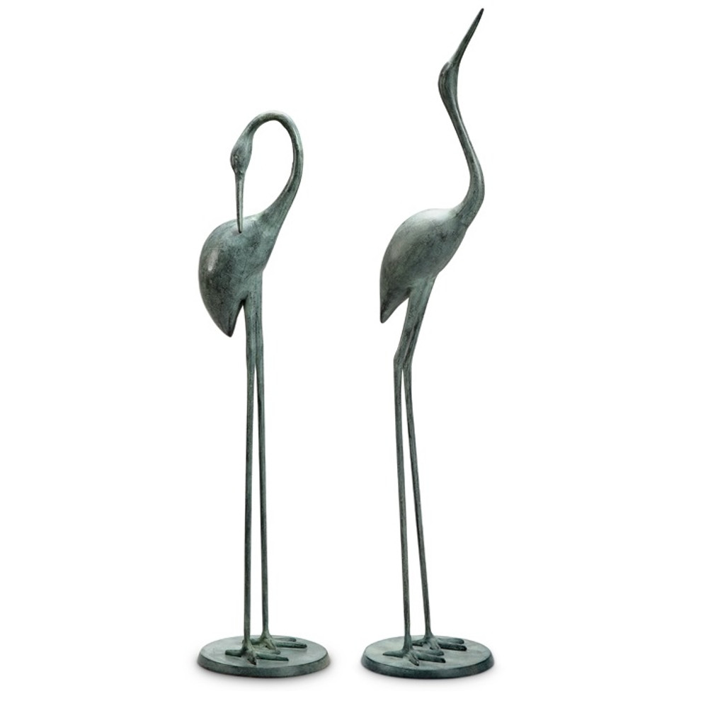 Crane Garden Pair Sculpture | 34280 | SPI Home ...