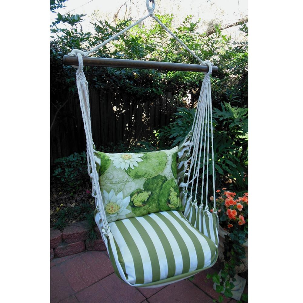 Frog Lilypad Hammock Chair Swing Summer Palm Magnolia