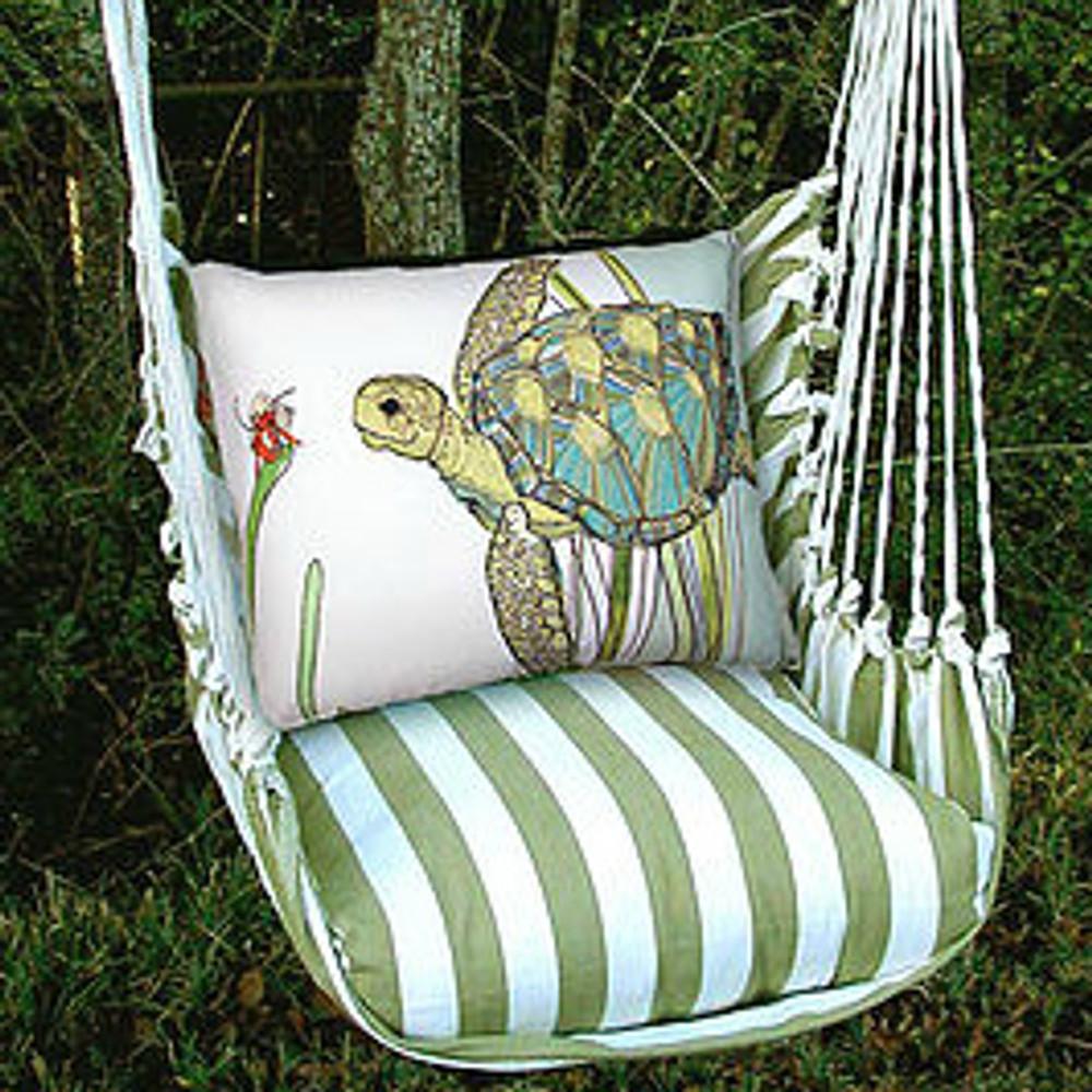 Sea Turtle Hammock Chair Swing   Summer Palm   Magnolia Casual