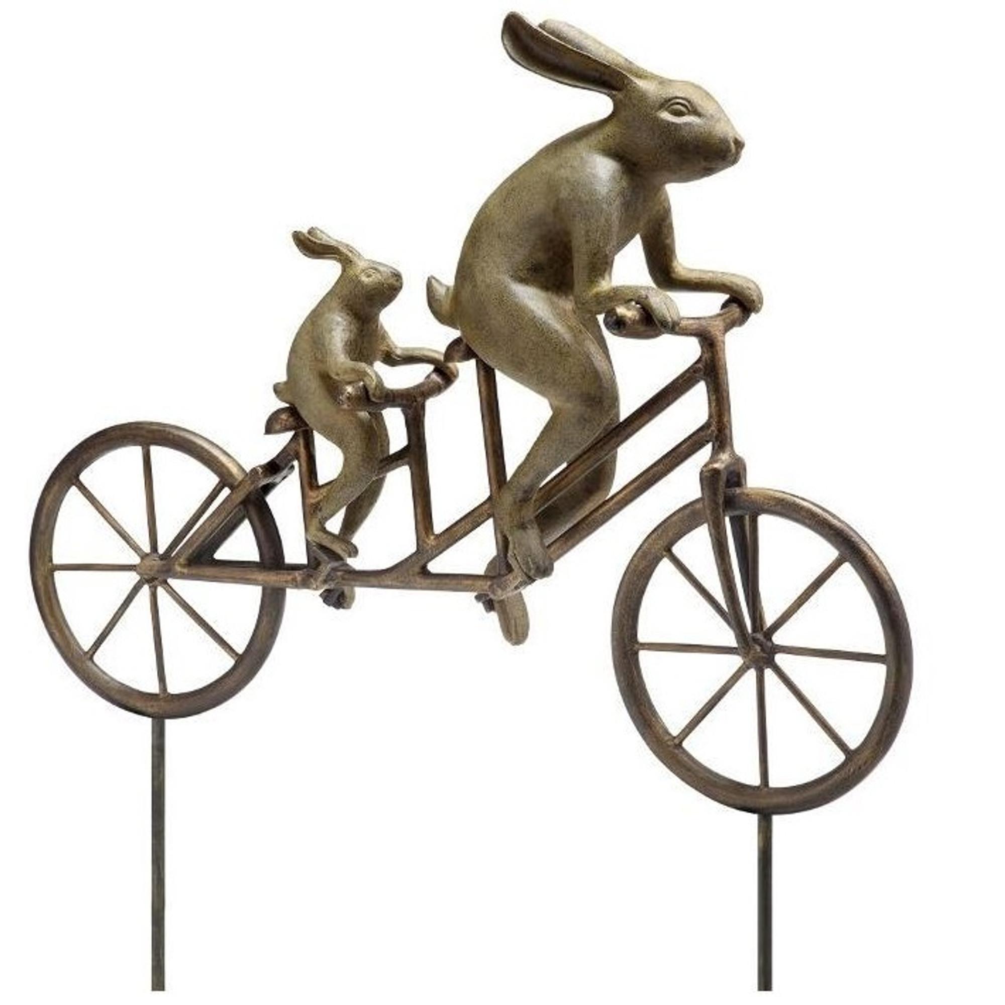 Superbe ... Tandem Bicycle Bunnies Garden Statue | 33862 | SPI Home  2