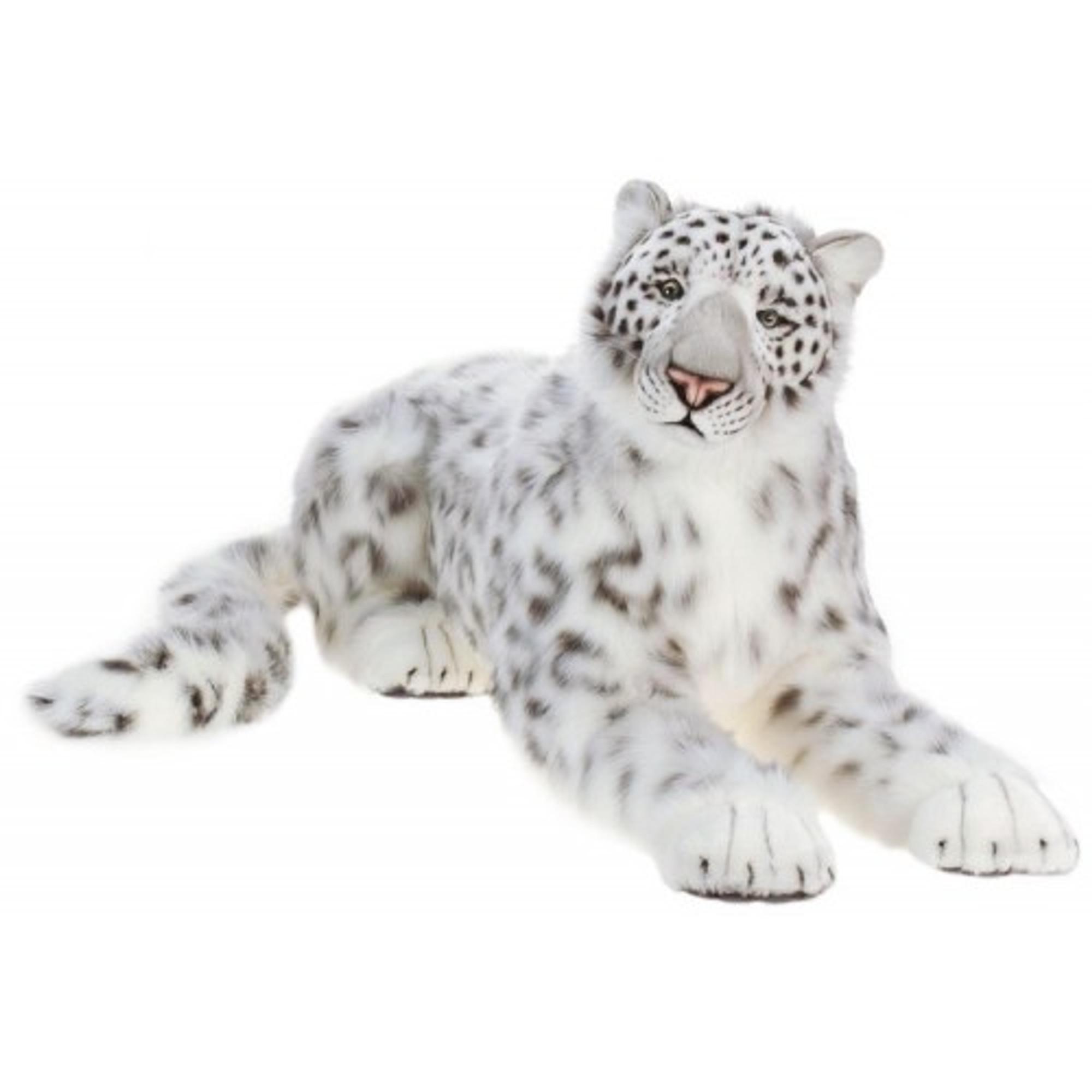 Snow Leopard Giant Stuffed Animal Life Sized Snow