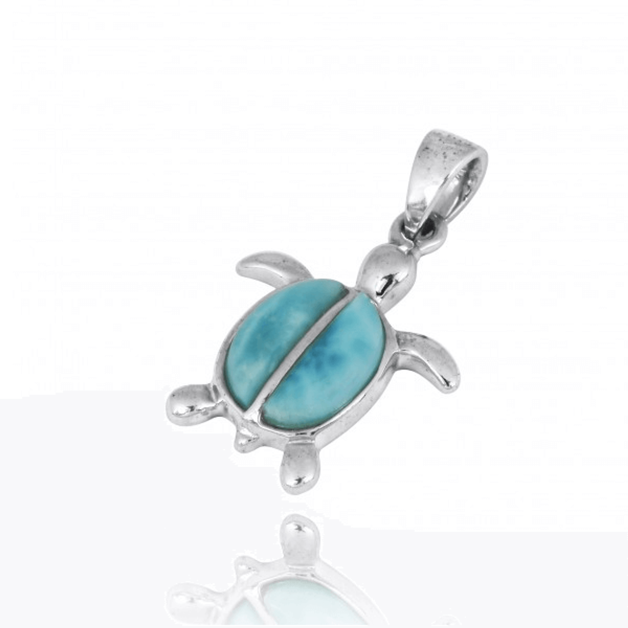 Turtle sterling silver larimar pendant larimar turtle necklace turtle sterling silver larimar pendant necklace beyond silver jewelry np10918 lar aloadofball Image collections