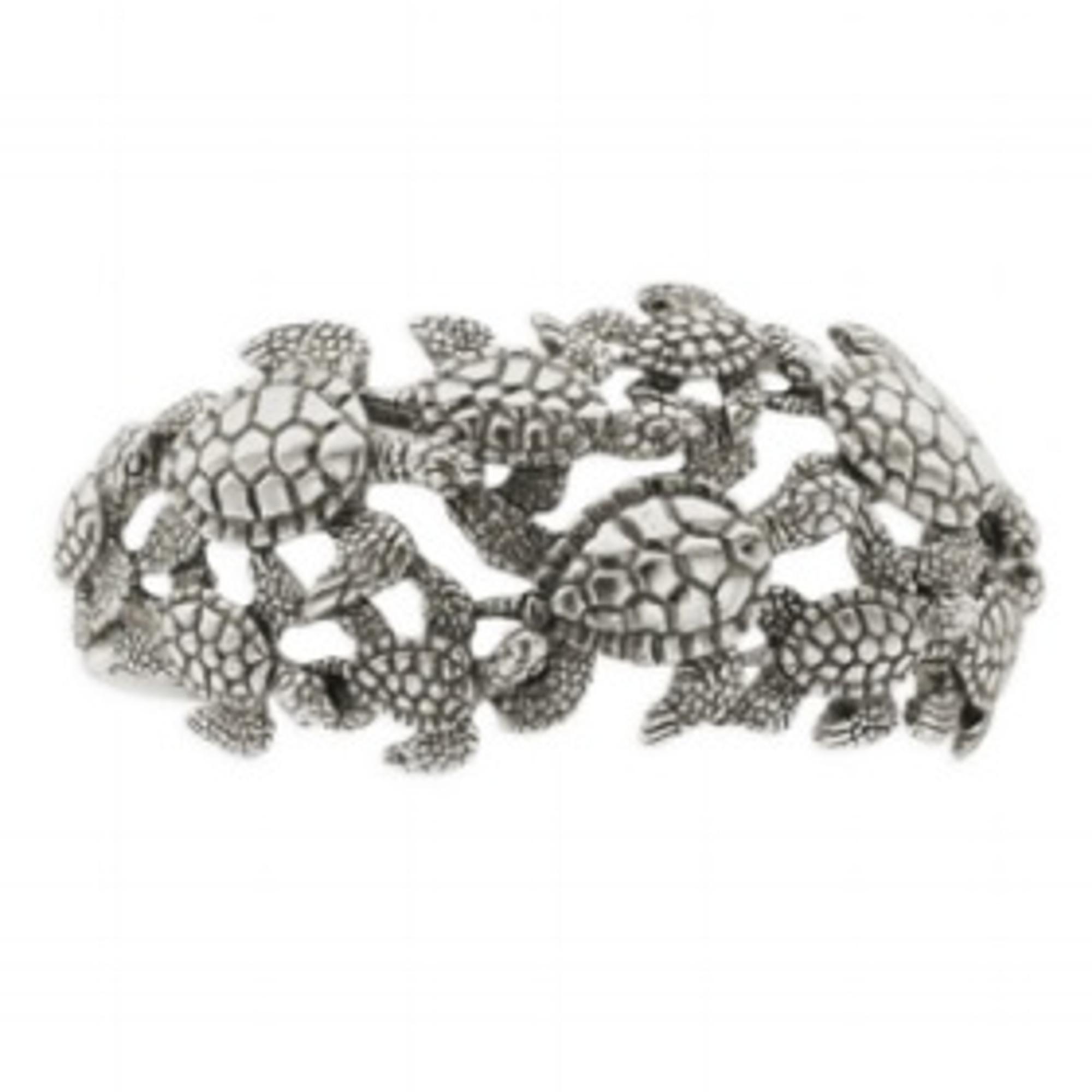 Sea Turtle Bracelet Cuff Sterling Silver Kabana