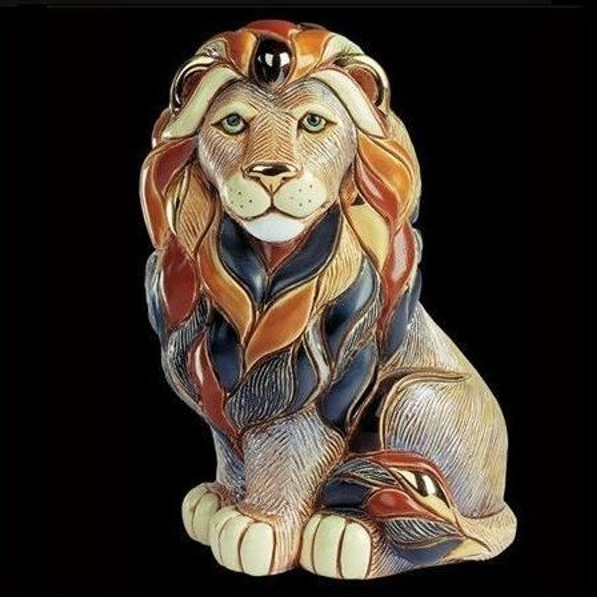 Image result for De Rose Rinconada R460 Lion Sitting 24x31cm