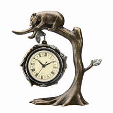 Bear on Tree Desk Clock | SPI Home | 33394