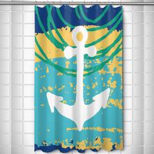 Anchor Shower Curtain Bimini